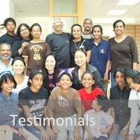 Travelers testimony