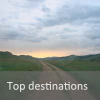 Mongolia top destinations