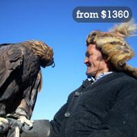 Eagle hunting tour