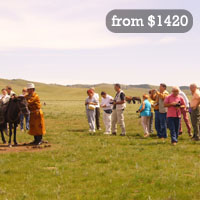 Mongolia excursion tour