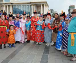 Mongolia culture event