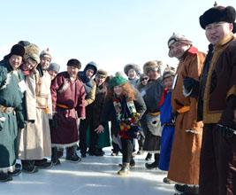 Mongolian ice festival