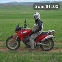 Mongolia motorcycle tours