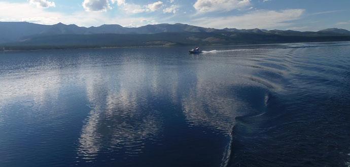 Mongolia lakes