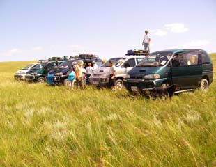 Group tours in Mongolia