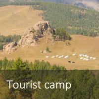 Mongolia tourist camp