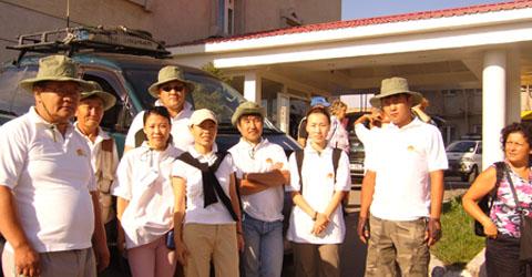 Mongolia travel team