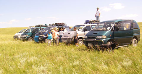 Mongolia travel vehicles