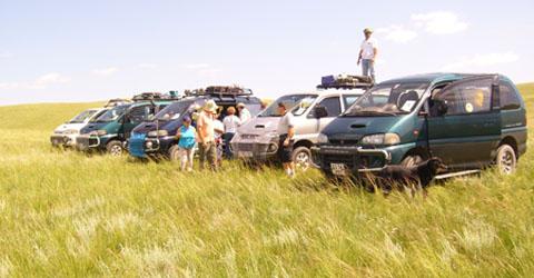 Mongolia travel vehicles